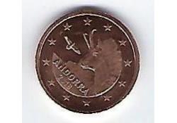 2 Cent Andorra 2018 Unc
