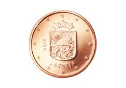 5 Cent Letland 2014 UNC