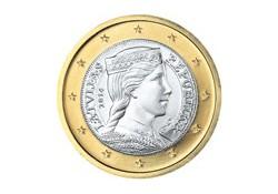 1 Euro Letland 2014 UNC