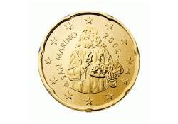 20 Cent San Marino 2007 UNC
