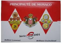 Monaco 2001 Bu set