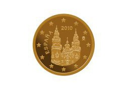 2 Cent Spanje 2013 UNC