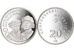 Zwitersland 2017 20 Francs...