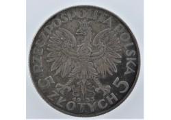 Polen 1933 5 Zloty Zf