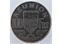 Reunion 1964 100 Francs Unc