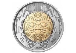 Canada 2020 2 dollar Bill...