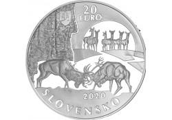 Slowakije 2020 20 euro...
