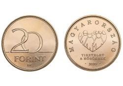 Hongarije 2020 20 Forint...