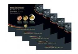 Proofsets Duitsland 2016 ADFGJ