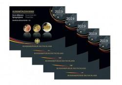 Proofsets Duitsland 2019 ADFGJ