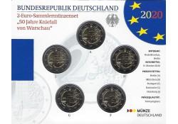 2 Euro Duitsland 2020 ADFG...