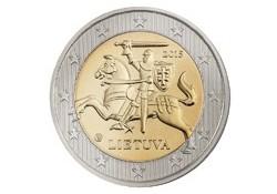 2 Euro Litouwen 2015 Unc