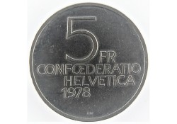Zwitserland 1978 5 Francs...
