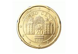 20 Cent Oostenrijk 2002 UNC