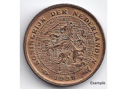 Nederland 1938 ½ Cent...