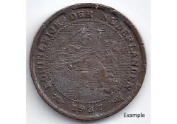 Nederland 1937 ½ Cent...