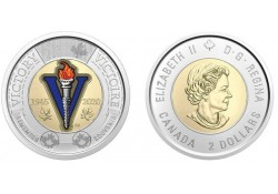 Canada 2020 2 Dollar Unc...