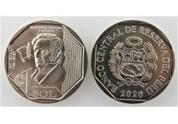 Peru 2020 1 Sol Unc 'Juan...