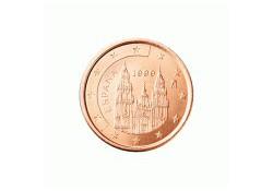 1 Cent Spanje 2007 UNC