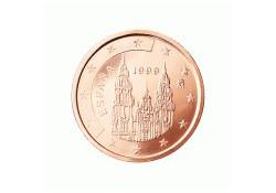 2 Cent Spanje 2001 UNC