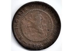 Nederland 1886 ½ Cent...