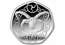 Isle of man 2020 50 Pence...