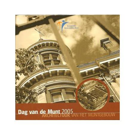 Nederland 2005 Dag van de muntset