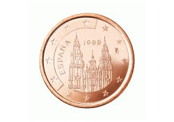 5 Cent Spanje 2001 UNC