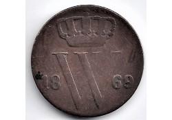 Nederland 1869 ½ Cent...