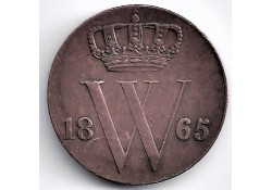 Nederland 1865 ½ Cent...