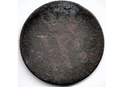 Nederland 1823 B ½ Cent...