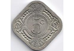 Curacao 1943 5 Cent...