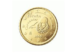10 Cent Spanje 2001 UNC