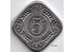 Nederland 1940 5 Cent...