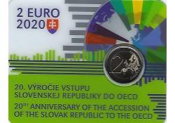 2 Euro Slowakije 2020 '20...