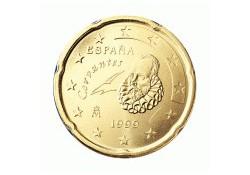 20 Cent Spanje 1999 UNC
