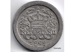 Nederland 1909 5 Cent...