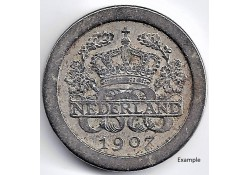 Nederland 1907 5 Cent...