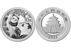 China 2021 10 Yuan Panda 1...