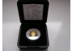 75. Gulden 1999 Ned Antillen Goud en Zilver