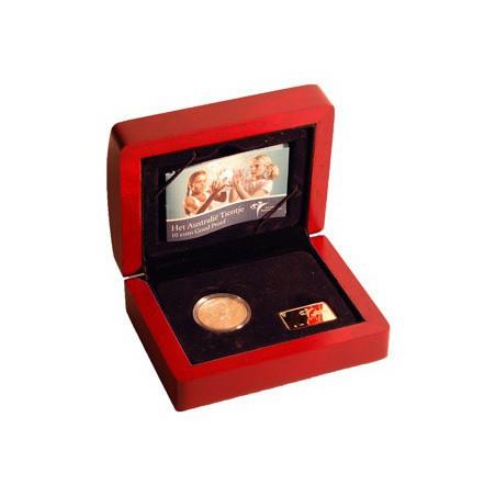 Nederland 2006 10 euro Australië Tientje Goud Proof