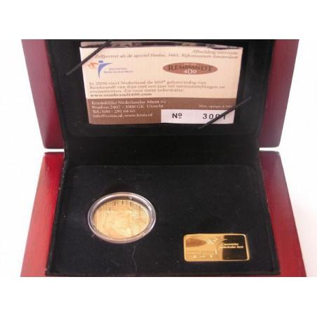 Nederland 2006 10 euro Rembrandt Tientje Goud Proof