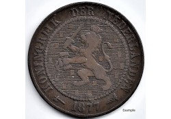 Nederland 1877 2½ Cent...