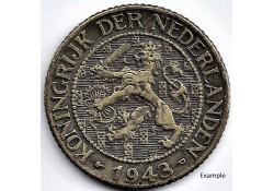 Nederland 1943P  1 Cent...