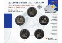 2 Euro Duitsland 2021 ADFG...