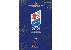 Italië 2021 5 Euro 'Alpine...