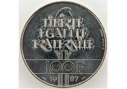 Frankrijk 1987 100 Francs...