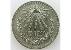 Mexico 1924 1 Peso Pr