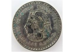Mexico 1947 5 Pesos Unc