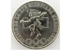 Mexico 1968 25 Pesos...